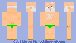 grandpa goes swimming Minecraft Skin