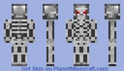 Terminator T101 Endoskeleton Minecraft Skin