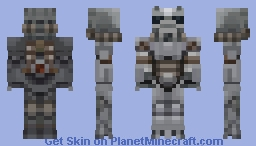 Fallout 4: T-60 Power Armor Minecraft Skin