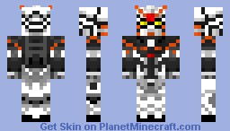 Deathscythe Gundam Katoki Minecraft Skin