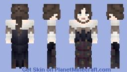 HZ ~ Dark Florals Minecraft Skin