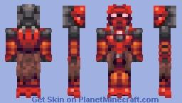BIONICLE© G1 - Toa Tahu Mata (Stylized) Minecraft Skin