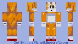 Tails Minecraft Skin