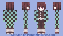 kamado tanjiro (KNY) Minecraft Skin