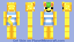 Tangy | Animal Crossing Minecraft Skin