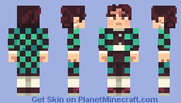 Tanjiro [Demon Slayer] Minecraft Skin
