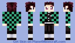 Tanjirou Minecraft Skin