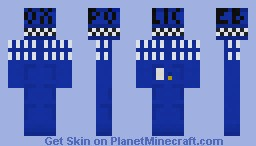 The Tardis Minecraft Skin