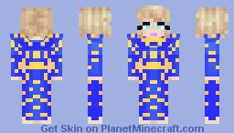 Taylor Swift Grammy 2021 Performance Minecraft Skin