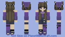 midnight // te // glow effect ig Minecraft Skin