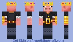 Techno Brute Minecraft Skin
