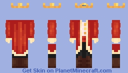 Kingly Techno Outfit. Minecraft Skin