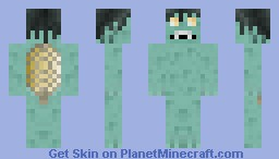 Kappa [PMC mythological creature contest] Minecraft Skin