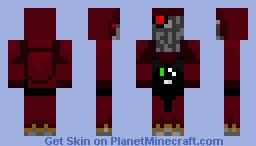 Warhammer 40k Techpriest Minecraft Skin
