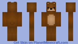 Mr.Bear (The Teddy Bear) Minecraft Skin