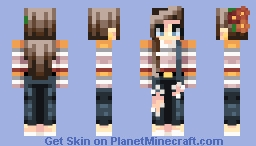 simple teen skin (+ discord) Minecraft Skin