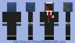 Screaming Whale is Sophisticated Minecraft Skin
