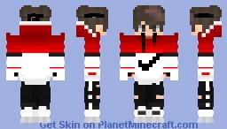 nike rojo Minecraft Skin