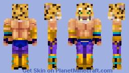 King from Tekken [UPDATED] Minecraft Skin