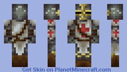 RPG Skin: Templar Knight Minecraft