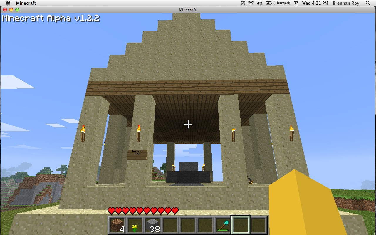 minecraft how to make a temple