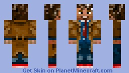 The 10th Doctor Minecraft Skin