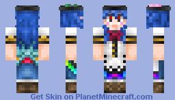 Hinanawi Tenshi Minecraft Skin
