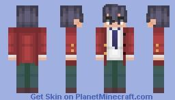 Manabu Horikita | Classroom of the Elite Minecraft Skin