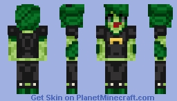 Terra The Floran Skin (Artwork Colors) Minecraft Skin