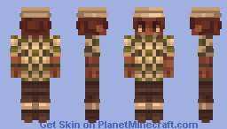 Terraria Reshading NPC Golfer Minecraft Skin