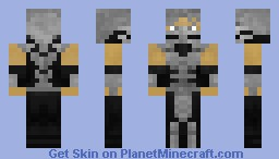 Smoke® (Mortal Kombat®) Minecraft Skin