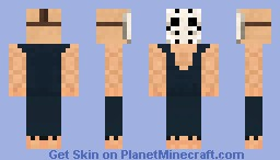 TerrorMask from Splatterhouse (Halloween Contest) Minecraft Skin