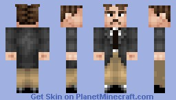 Nikola Tesla, High-Voltage Genius Minecraft Skin