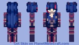 Space Ishtar Minecraft Skin