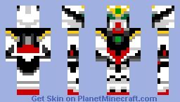 Wing Custom Gundam Minecraft