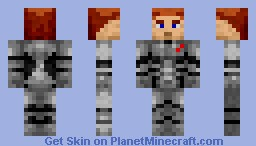 An Unnamed Soldier from the Future! Minecraft Skin