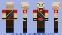 TF2 Red Heavy Minecraft Skin
