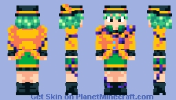 Touhou - Koishi Komeiji Minecraft Skin