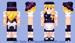 Touhou - Marisa Kirisame Minecraft Skin