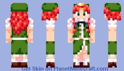 Touhou - Hong Meiling Minecraft Skin