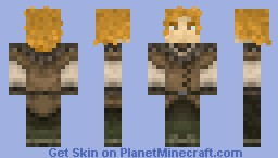 Pippin from the Lord of the Rings Minecraft Skin