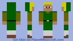 Basic Link Minecraft Skin