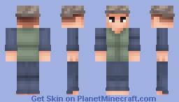 The Angler | Terraria Minecraft Skin