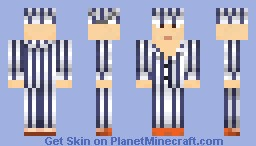 The Boy in the Striped Pajamas Minecraft Skin