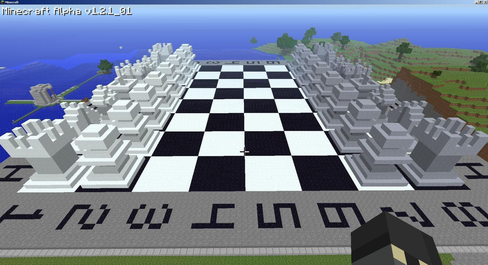 Chess Board Minecraft Project
