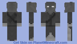 The Cursed Ranger of the North Minecraft Skin