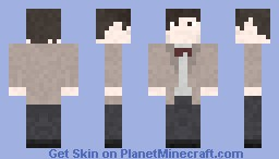 The Doctor (11th) Minecraft Skin