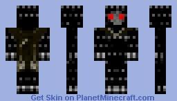 the evil warrior Minecraft Skin