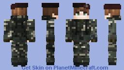 British Paratrooper, The Falklands War Minecraft Skin