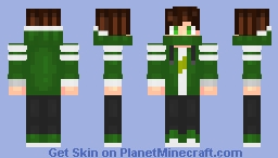 """The green"" (test v2) Minecraft Skin"